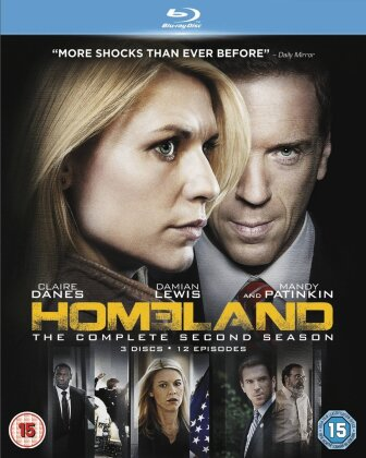 Homeland - Season 2 (3 Blu-rays)