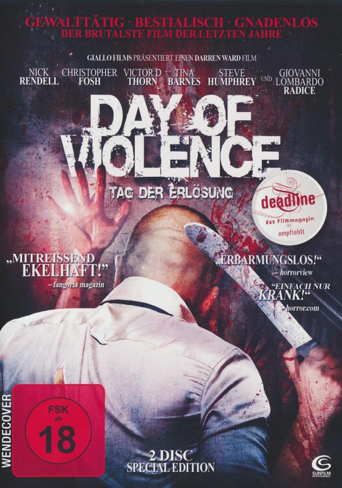 Day of Violence - Tag der Erlösung (2010) (Special Edition, 2 DVDs)