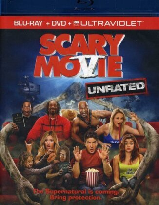 Scary Movie 5 (2013) (Unrated, Blu-ray + DVD)