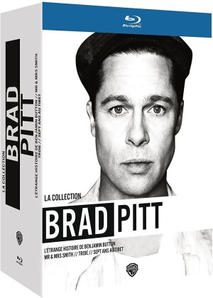 La Collection Brad Pitt (Box, 4 Blu-rays)
