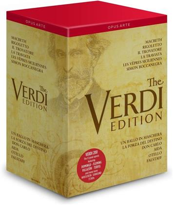 Various Artists - The Verdi Edition (17 DVDs)