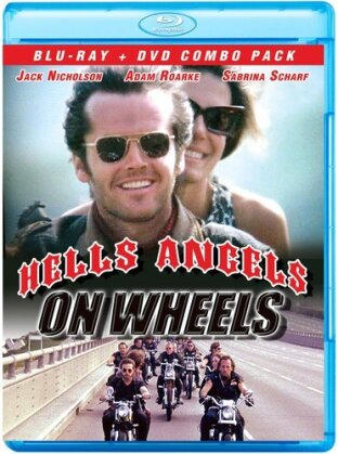 Hells Angels On Wheels - Hells Angels On Wheels (2PC) (1967) (Blu-ray + DVD)