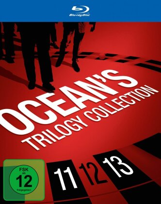 Ocean's Trilogie - Collection (4 Blu-rays)