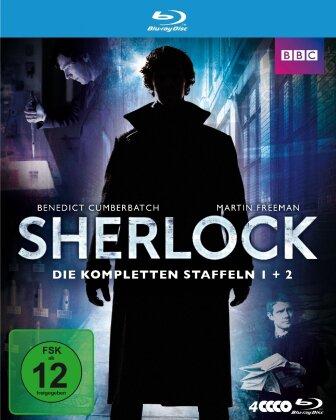 Sherlock - Staffel 1 + 2 (BBC, 4 Blu-rays)