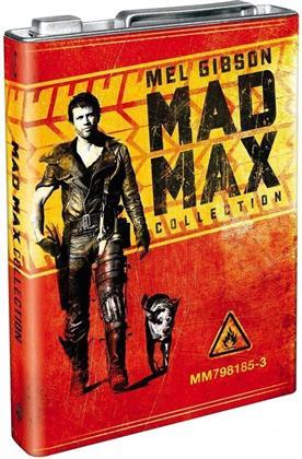 Mad Max - Trilogie (Édition Prestige, Scatola metallica di benzina, 3 Blu-ray)