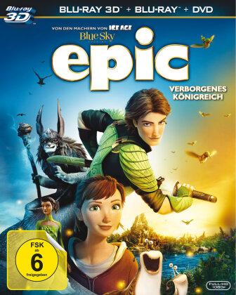 Epic - Verborgenes Königreich (2013) (Blu-ray 3D (+2D) + 2 Blu-rays + DVD)