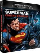 Superman - Superman contre Brainiac (Steelbook, Ultimate Edition, Blu-ray + DVD)