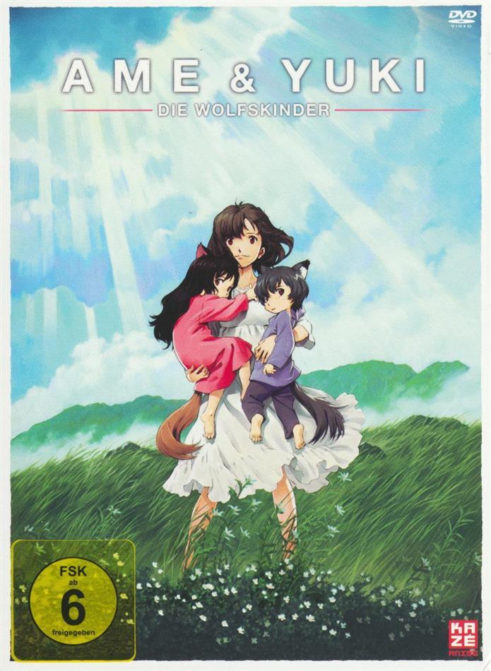 Ame & Yuki - Die Wolfskinder (2012) (Deluxe Edition, 2 DVDs)
