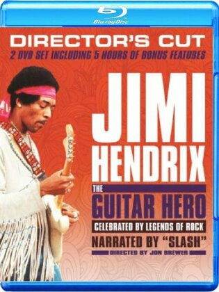 Jimi Hendrix - The Guitar Hero - Director's cut (2 Blu-rays)