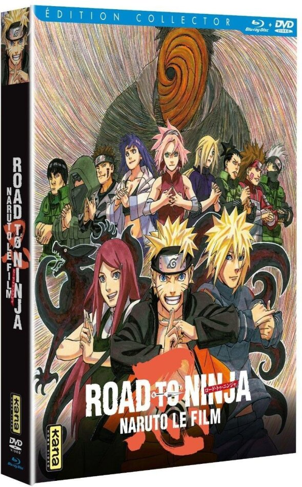 Naruto - Le film - Road to Ninja (2012) (Édition Collector, Blu-ray + DVD + Livret)