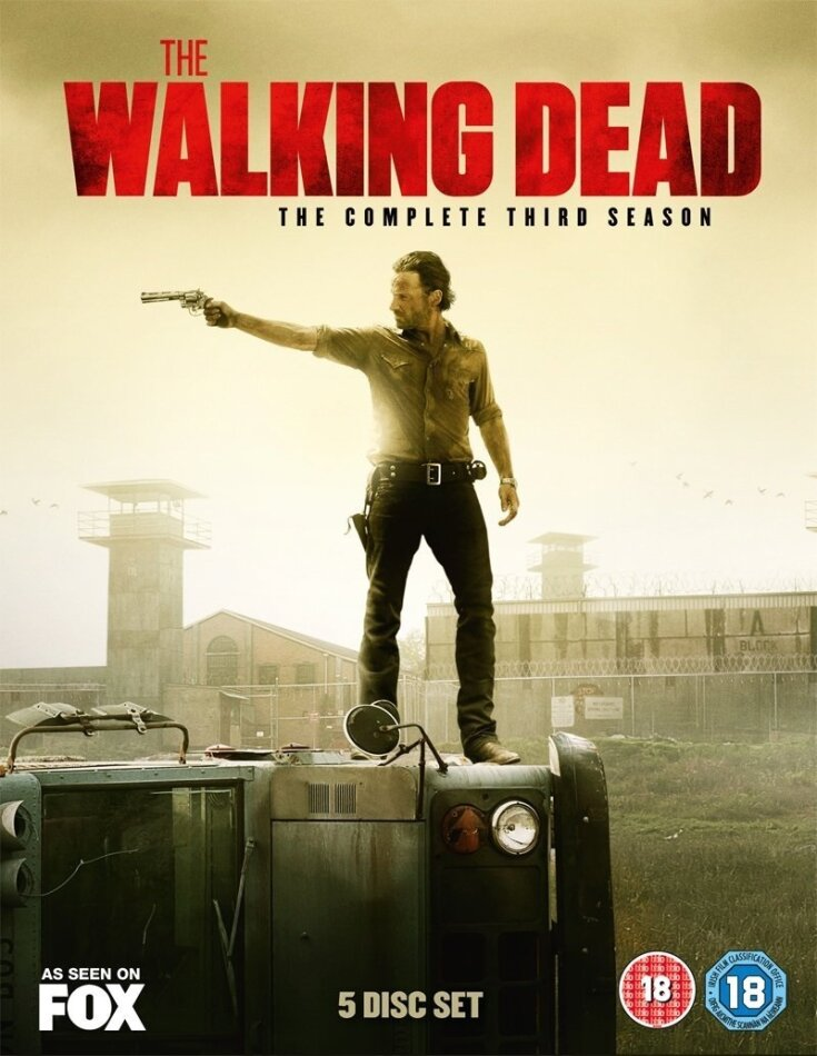 The Walking Dead - Season 3 (5 DVDs)
