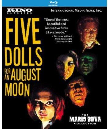 Five Dolls for an August Moon - 5 bambole per la luna d'agosto (1970) (Remastered)