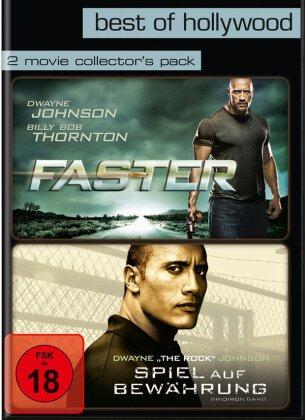 Faster / Spiel auf Bewährung (Best of Hollywood, 2 Movie Collector's Pack, 2 DVDs)