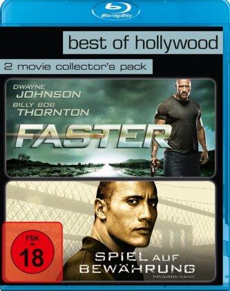 Faster / Spiel auf Bewährung (Best of Hollywood, 2 Movie Collector's Pack, 2 Blu-rays)