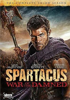 Spartacus: War of the Damned - Season 3 (Digibook, 3 DVDs)