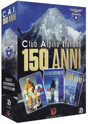 150 anni del C.A.I. (Club Alpino Italiano) - 1863-2013 (Box, 3 DVDs)