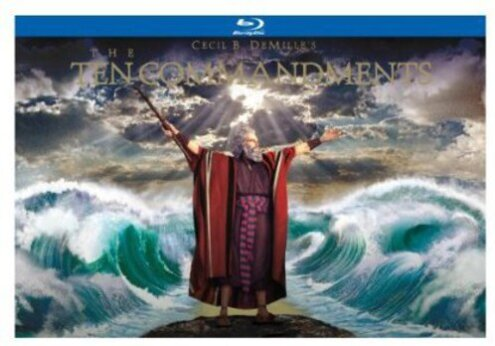 The Ten Commandments (1956) (Ultimate Collector's Edition, 6 Blu-rays + DVD)