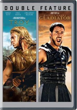 Troy (2004) / Gladiator (2000) (Double Feature, 2 DVDs)