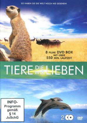 Tiere die wir lieben (Steelbook, 2 DVD)