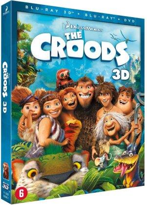 Les Croods (2013) (Blu-ray 3D (+2D) + DVD)