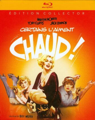 Certains l'aiment chaud (1959) (s/w, Collector's Edition, Limited Edition, Mediabook, Blu-ray + DVD)