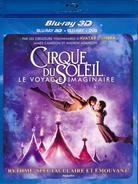Cirque du Soleil - Le voyage imaginaire (2012) (Blu-ray 3D (+2D) + DVD)