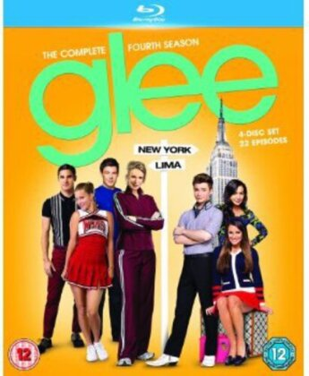 Glee - Glee: Season 4 (4 Blu-rays)