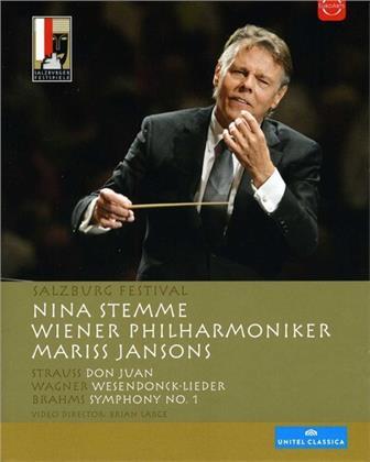 Wiener Philharmoniker, Mariss Jansons, … - Brahms / Strauss / Wagner (Euro Arts, Salzburger Festspiele, Unitel Classica)
