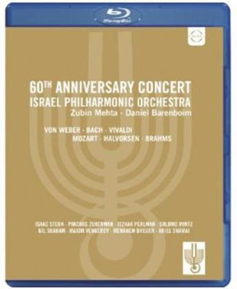 Israel Philharmonic Orchestra, Metha Zubin, … - 60th Anniversary Concert (Euro Arts)