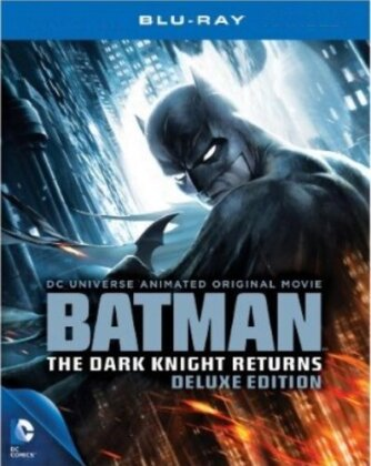 Batman - The Dark Knight Returns Vol. 1 + 2 (Deluxe Edition, Blu-ray + DVD)