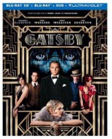 The Great Gatsby (2013) (Blu-ray 3D (+2D) + Blu-ray + DVD)