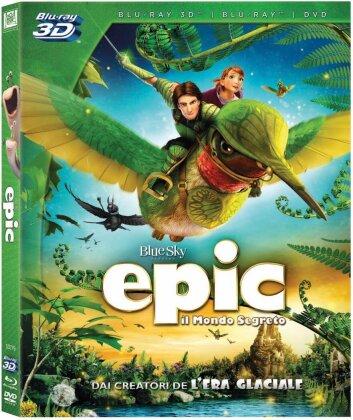 Epic (2013) (Blu-ray 3D (+2D) + DVD)