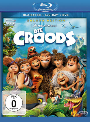 Die Croods (2013) (Blu-ray 3D (+2D) + DVD)