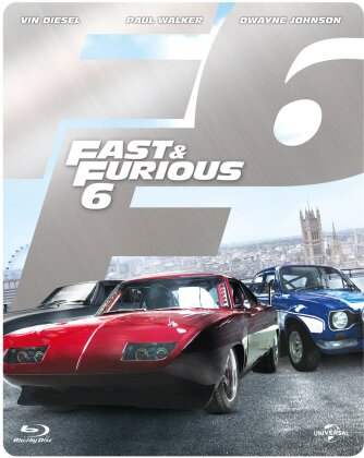 Fast & Furious 6 (2013) (Limited Edition, Steelbook)