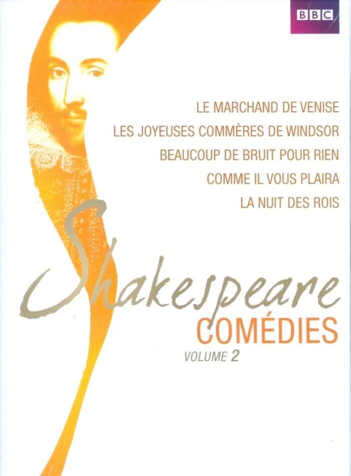 Shakespeare Comédies - Vol. 2 (BBC, 5 DVDs)