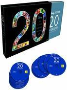 20 - Disney und Pixar - Die grössten Animations Hits (Limited Edition, 20 Blu-rays)