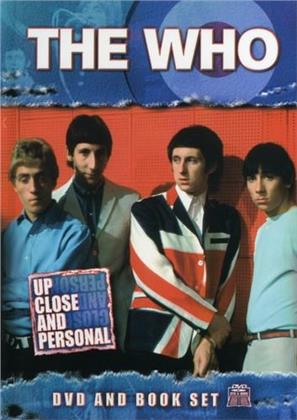 The Who - Up Close & Personal (Deluxe Edition, Inofficial, DVD + Buch)