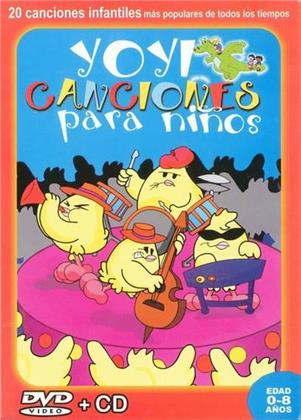 Yoyicanciones Para Ninos (DVD + CD)