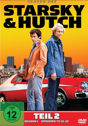 Starsky & Hutch - Staffel 1.2 (2 DVDs)