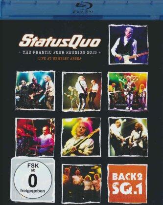 Status Quo - Live at Wembley (Blu-ray + CD)