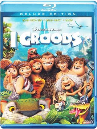 I Croods (2013) (Blu-ray 3D (+2D) + DVD)