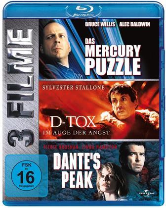 Das Mercury Puzzle / D-Tox / Dante's Peak (3 Blu-rays)