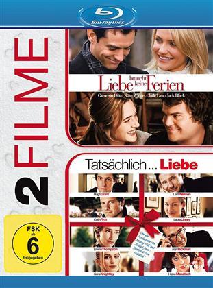 Liebe braucht keine Ferien / Tatsächlich... Liebe (2 Blu-rays)