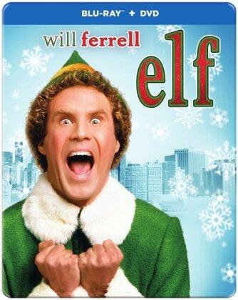 Elf (2003) (Edizione Anniversario, Steelbook, Blu-ray + DVD)