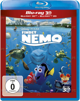 Findet Nemo (2003) (Blu-ray 3D + Blu-ray)