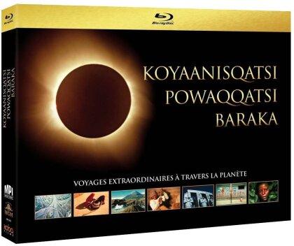 Koyaanisqatsi / Powaqqatsi / Baraka (3 Blu-rays)