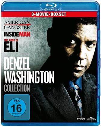 Denzel Washington Collection - American Gangster / Inside Man / The Book of Eli (3 Blu-rays)