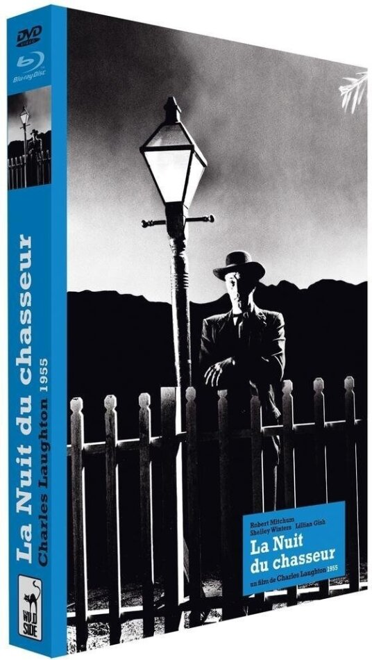 La nuit du chasseur (1955) (s/w, Collector's Edition, Blu-ray + DVD + Buch)