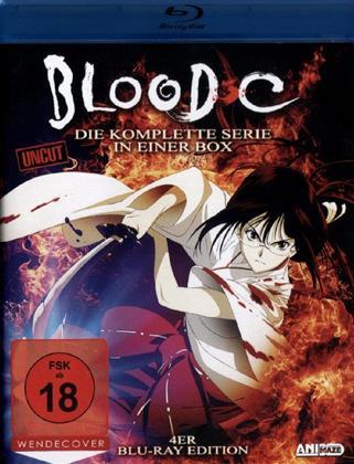 Blood C - Die komplette Serie (Uncut, 4 Blu-rays)