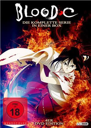 Blood C - Die komplette Serie (Uncut, 4 DVDs)